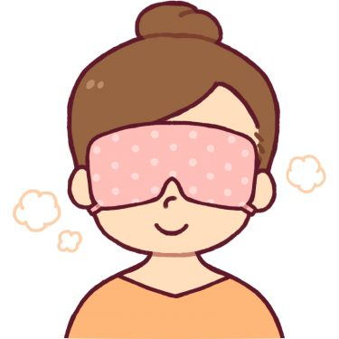 ホットアイマスクの効果として、目のくまがなくなるって本当?!