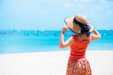 グアムで麦わら帽子は不便!邪魔だし、風に飛ばされるし・・・