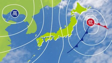 太平洋高気圧とは、簡単に言うと北太平洋の北太平洋高気圧のこと!?
